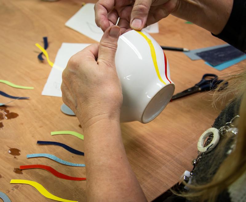 Taller d'iniciació a la decoració de ceràmica