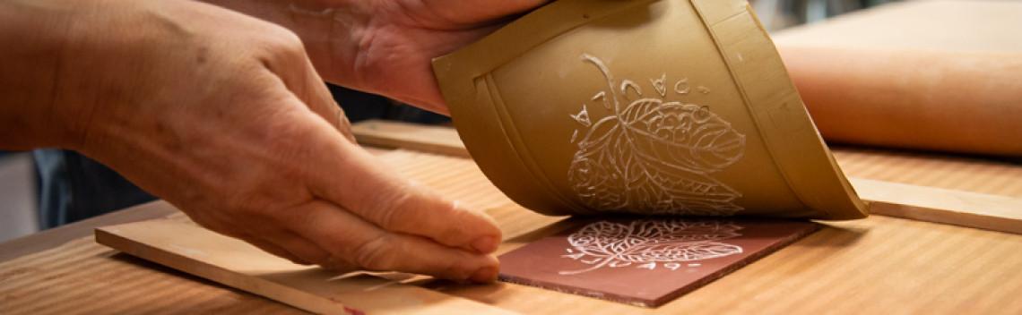Tastets taller pintura, ceràmica, gravat Setmana de la Creativitat