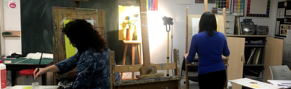 Tastets taller pintura Setmana de la Creativitat