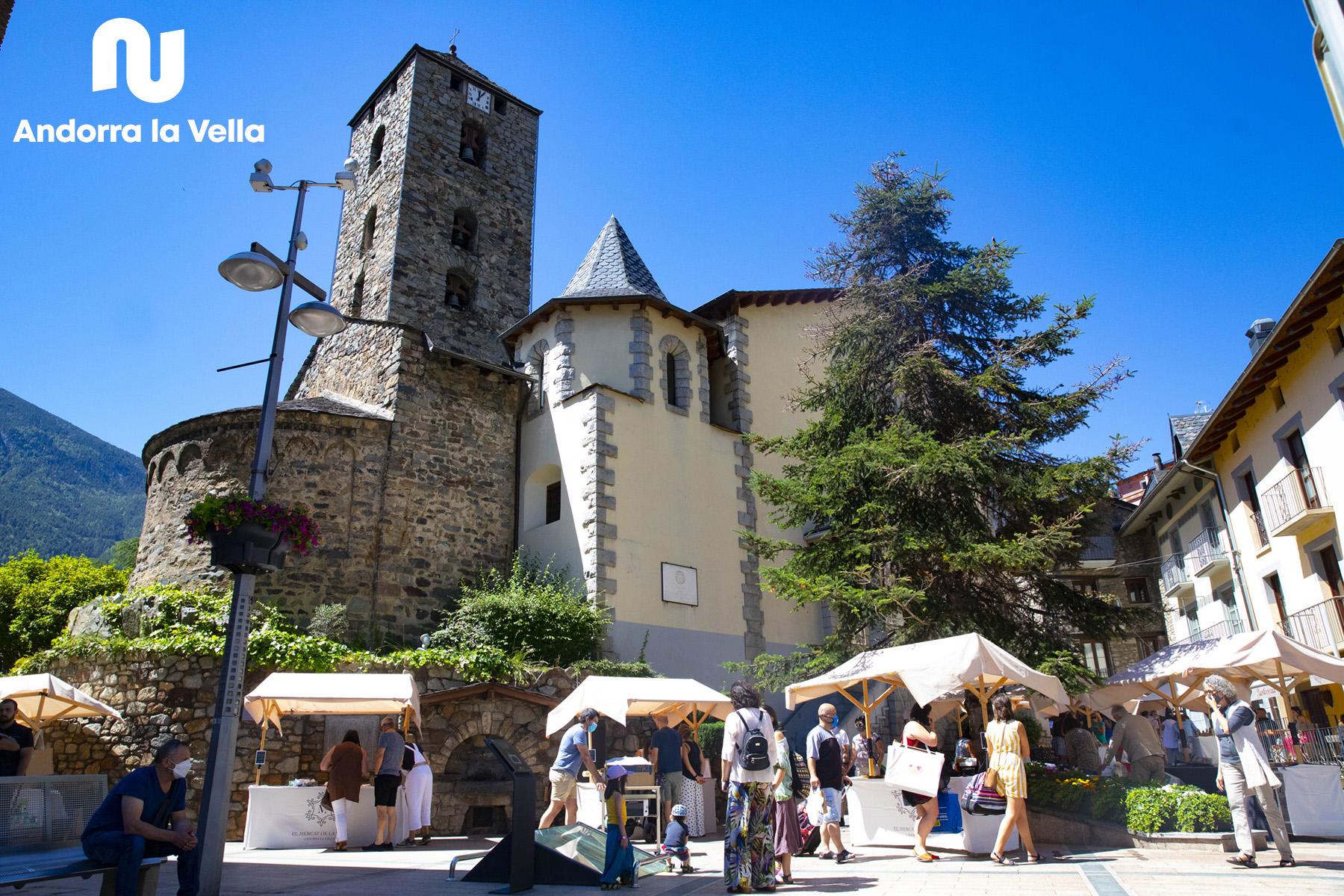 Mercat de la Vall al Centre històric